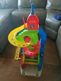 fisher price car tower toy Portland, 97229