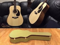 Used Acoustic Guitar with case