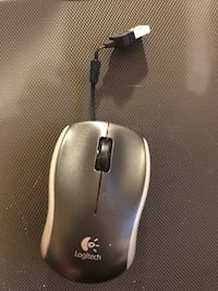 black and gray Logitech wireless mouse New York, 10009