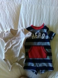 toddler's black and red onesie La Quinta, 92253