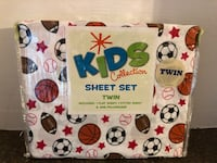 Brand New Twin Size Sports Sheet Set Manassas, 20112