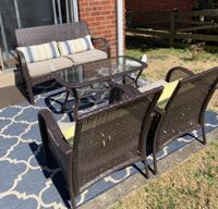 4 pc patio furniture  CAPITOLHEIGHTS