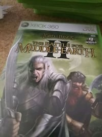Xbox 360 games.  Lord of rings battle  middle eart Phoenix, 85020