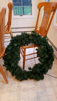"""Lit"" Christmas Wreath Greenlawn, 11740"