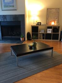 Short black and silver coffee table Houston, 77018