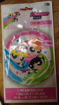 18 Foil Powerpuff Girls 1 Helium Balloon Tempe