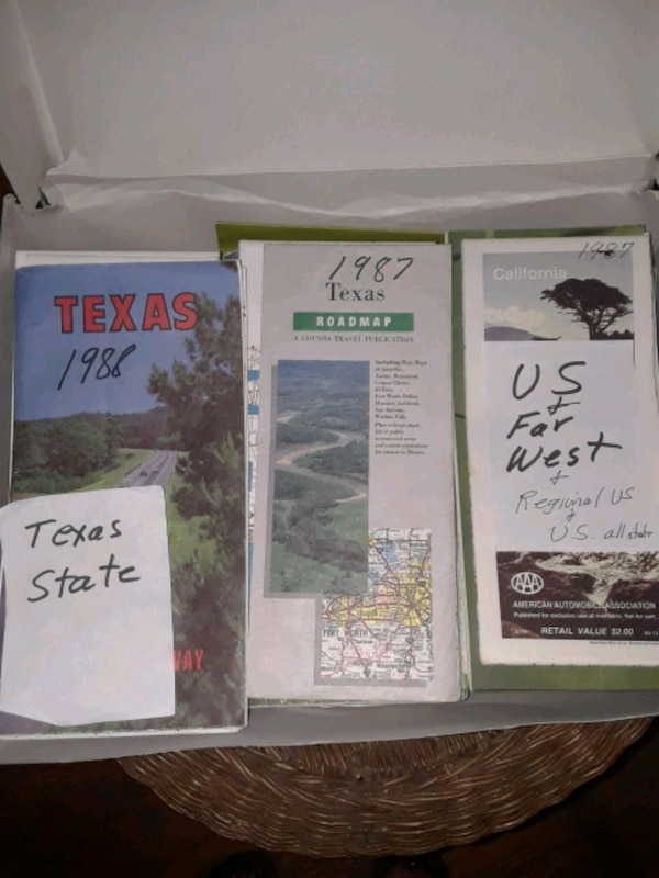 Vintage US Road Maps