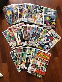 Comic Books - Vintage - Selling lot of 34 books- All in clear protective covers Eagan