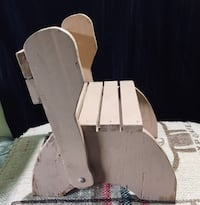 brown and white wooden rocking chair Barrie, L4N 5G8