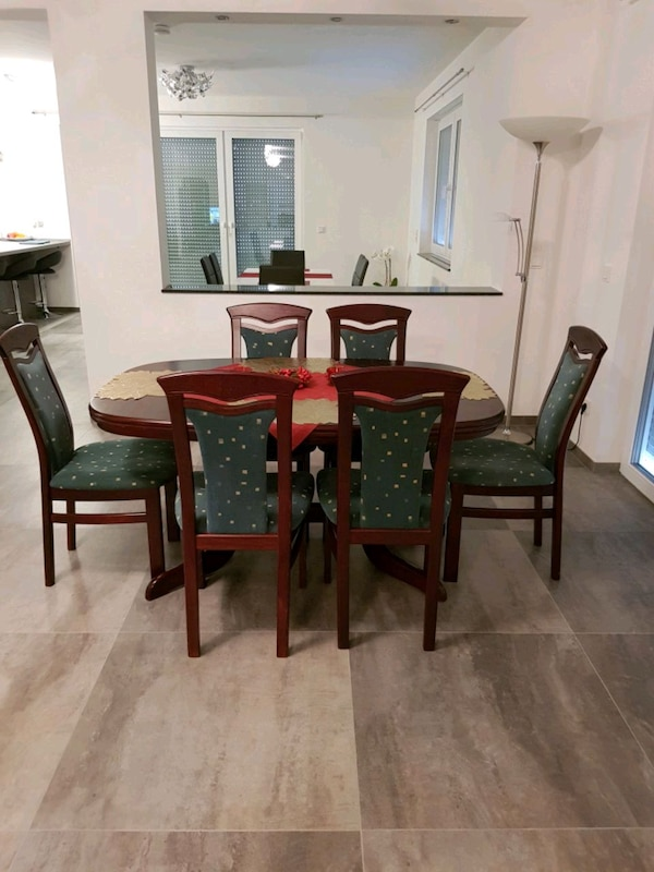 Dining set with 7 chairs
