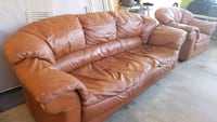 Leather Couch and chair San Diego, 92139