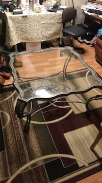 Elegant Glass Table
