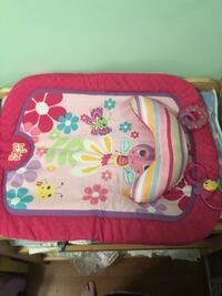 baby's pink and white floral bouncer Brampton, L6S 1M6