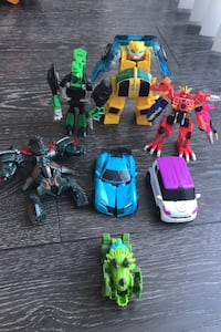 Assorted Transforming Robots (yellow sold) Surrey, V4N 4H4