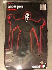 Ghost Face Halloween Costume  Laguna Niguel, 92677