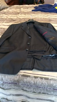 Black notch lapel suit jacket and dress pants Bradford West Gwillimbury, L3Z 3Z1