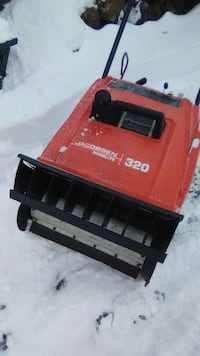 red and black Jacobsen 320 snow blower Middleville, 49333