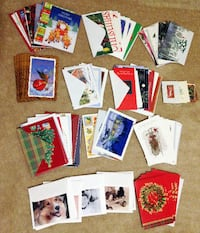 25 cents each ONLY! Christmas & Greeting Cards, Brand New with envelopes!   Calgary