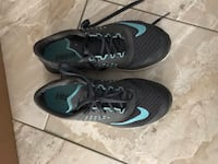 pair of black-and-blue Nike running shoes Escondido, 92027
