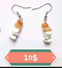 AVENTURINE & HOWLITE EARRINGS 10$ Ottawa, K1G