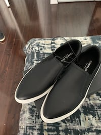 Kenneth Cole brand new black slip ons