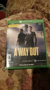 Xbox One A Way Out case Reno, 89512