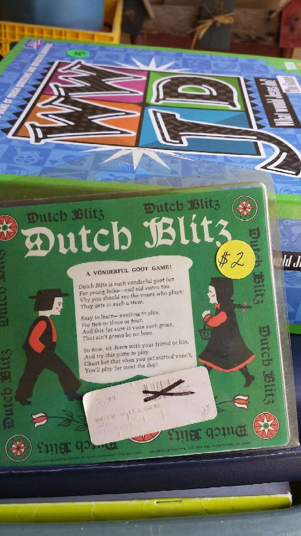 Used Dutch Blitz Game For Sale In Olathe Letgo