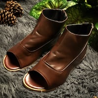 Brown Leather Sandal 36 km