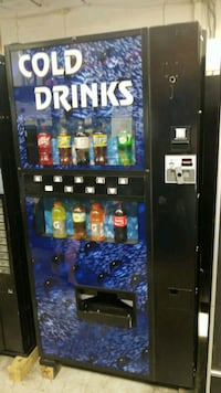 As is blowout sale firm price soda vending machine Germantown, 20874