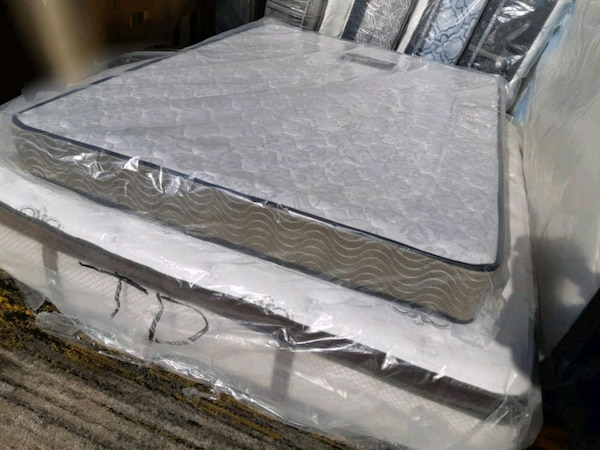 New Queen mattress 260$. Delivery 40$