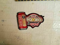 Tecate Solo Boxeo Sign