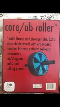 Core ab roller never opened