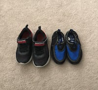 Euc sketchers shoes and water shoes size 5