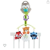 Fisher-Price Woodland Friends 3-In-1 Musical Mobile Toy Montréal, H8R 3X3