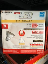 LED Pot Light Bulbs GU10 / LUXWAY LED Pot Light with Bulbs