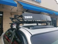 gray and black vehicle roof rack 40 km