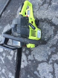 Green and black chainsaw Chatham-Kent, N0P 1S0