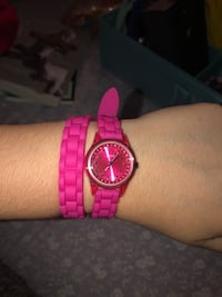 Guess Hot Pink Wrap around Watch  Pickering, L1X 2T8
