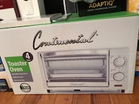 Continental toaster oven brand new in the box