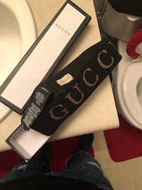 Black and Gold Gucci Headband  Sandy Springs, 30328