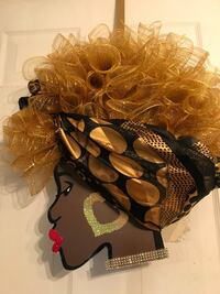 Head wreath The Blonde Bombshell