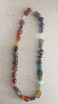 beaded multicolored necklace Severn, L3V