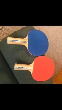 2 Table Tennis Paddles. Both for $4