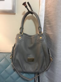 Marc Jacobs Gray leather 2-way handbag 2263 mi