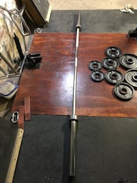 7ft 45 lb Olympic Barbell Providence, 02907