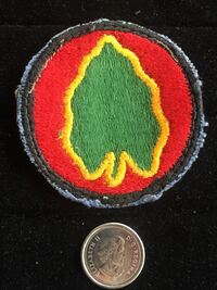 American 24th Infantry Division Badge Toronto, M4V 2B6