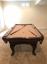 AMF Highland Series Limited Edition Pool Table with Accessories   Haymarket, 20169
