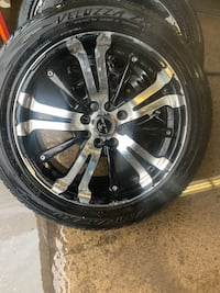 Set of 4 tires and rims Belleville, K8N 2P6