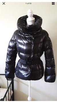 Women's moncler high shine jacket size 1