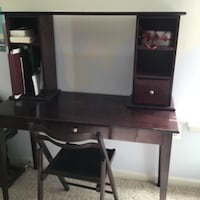 Computer/art desk with chair Leesburg